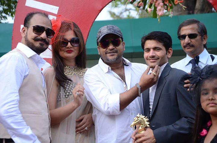 Daksh Oberoi, Deepshika Nagpal, Sajid Ali, Dashrat Singh (Jockey)