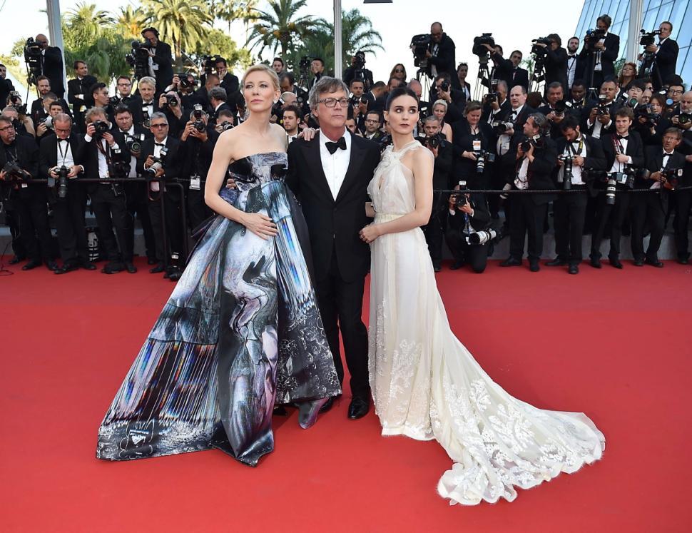 Cate Blanchett, Todd Haynes, Rooney Mara