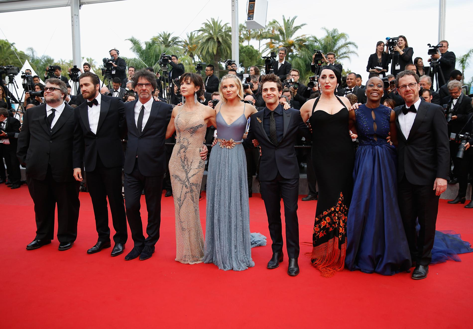 The 68th Cannes Film Festival Jury (L-R):