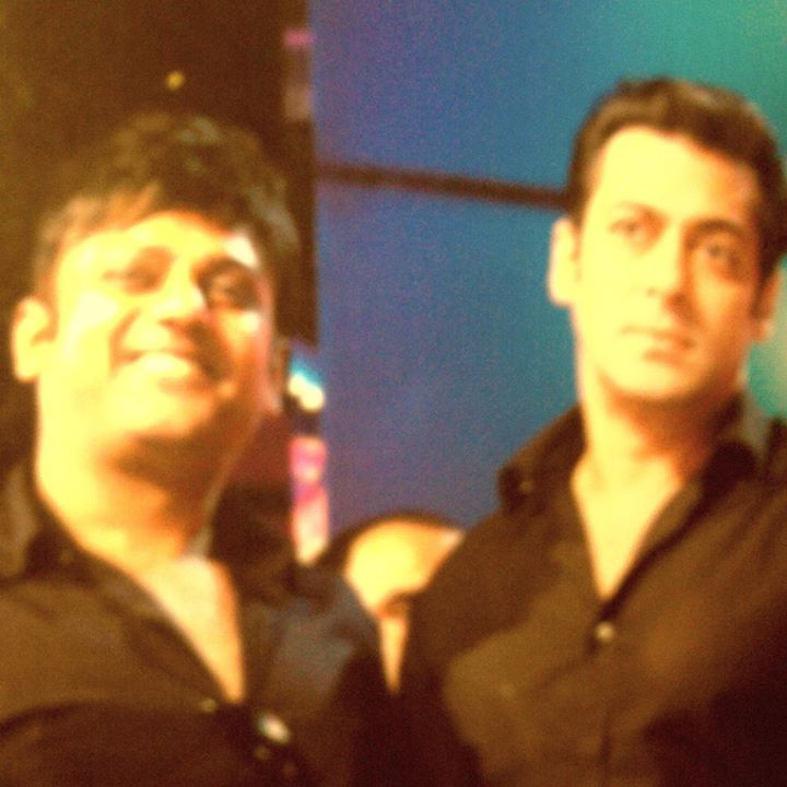 Perrii Patel and Salman Khan