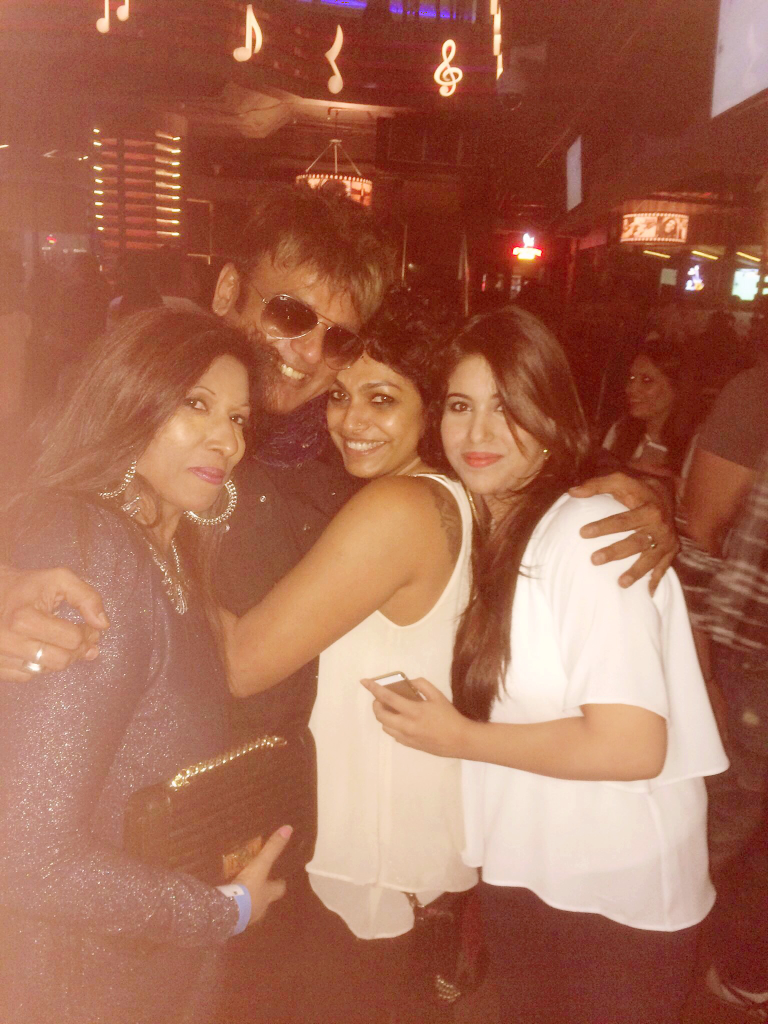 Indira Singh Beetul, Perrii Patel, Renuka Pillai (Makeup Artist) and Yutikha S Beetul (Me!)
